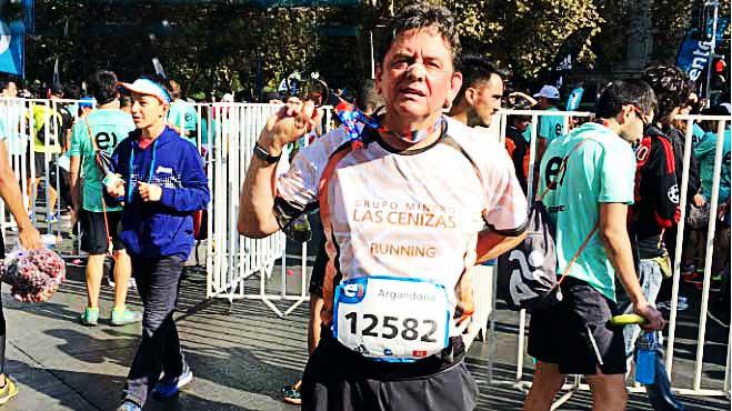 Funcionarios De Minera Las Cenizas Participaron En Maratón De Santiago 2017