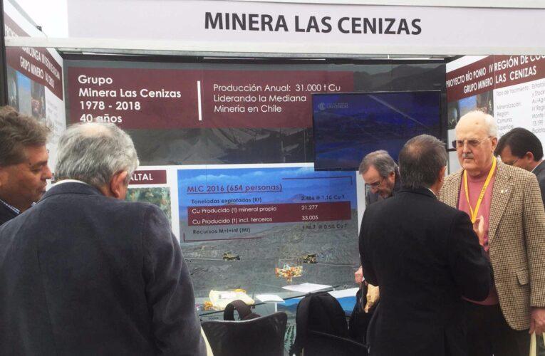 Grupo Minero las Cenizas participó en Feria de Geología, Fexmin 2017.