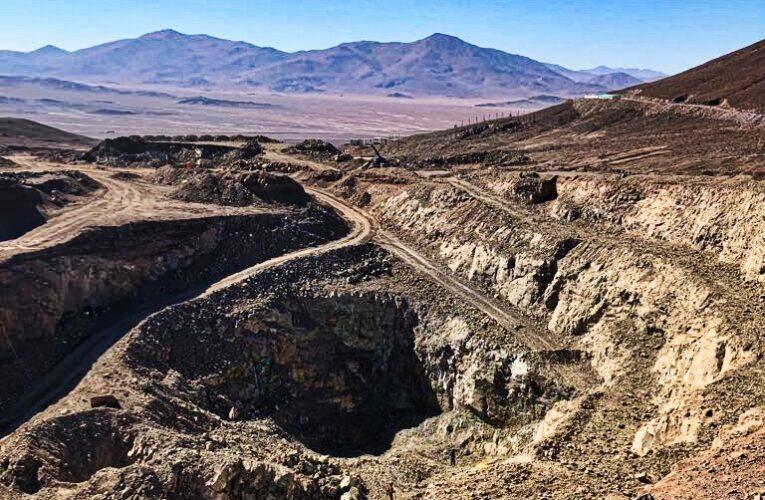 En Faena Taltal parte explotación de Mina Doña Elba, Fase 1