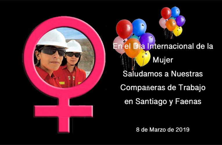 Saludamos a las Mujeres de Minera Las Cenizas en su Día