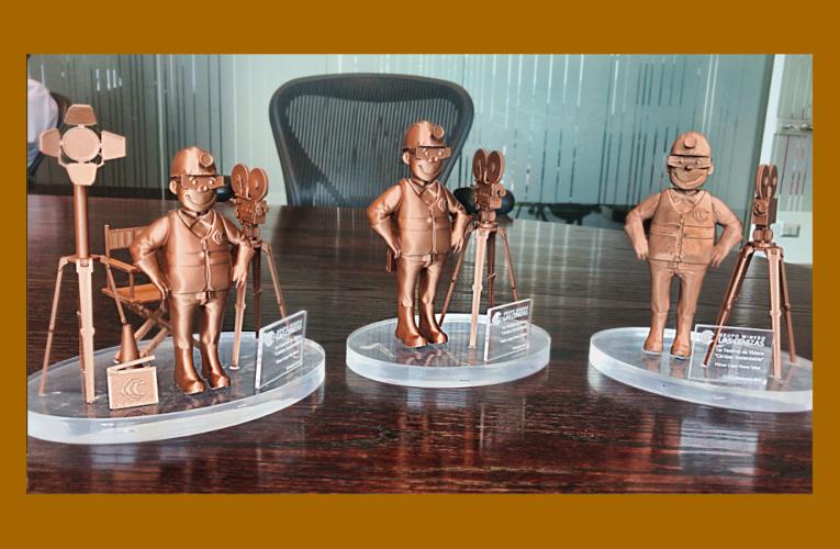 Video muestra cómo se fabricó la Estatuilla Don Min en Impresión 3D