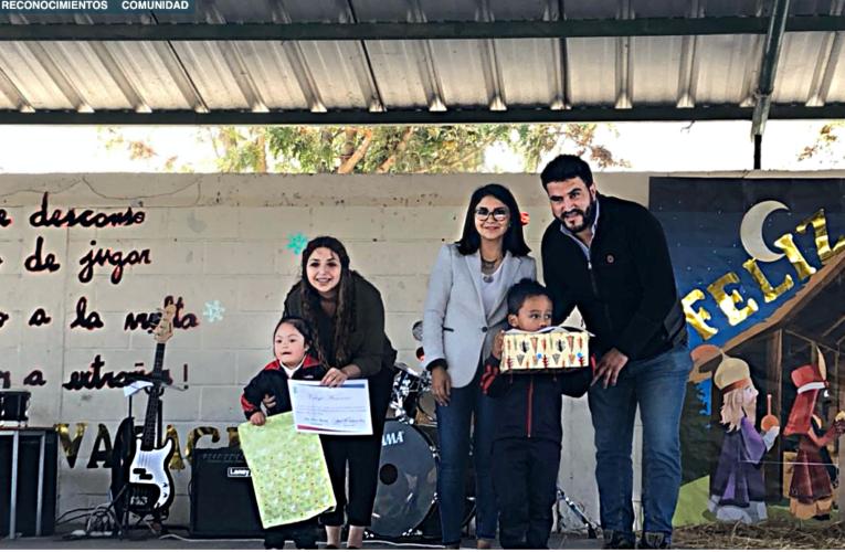 Supervisores de Faena Cabildo otorgan Premio al Esfuerzo en Escuela Básica Araucaria