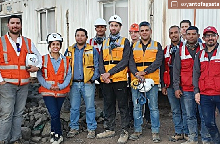 Nuevo sistema de tronaduras es probado en mina Doña Elba por centro de pilotajes