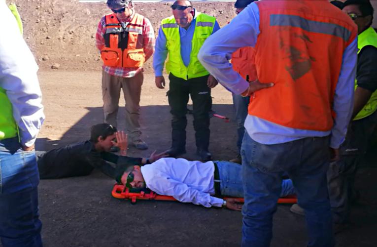 Mina Doña Elba Capacita a su Personal de Brigada de Emergencia