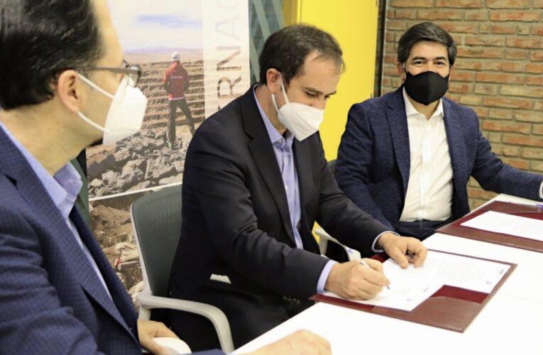 Sernageomin y CNP firman convenio para acelerar la incorporación de nuevas tecnologías en la minería