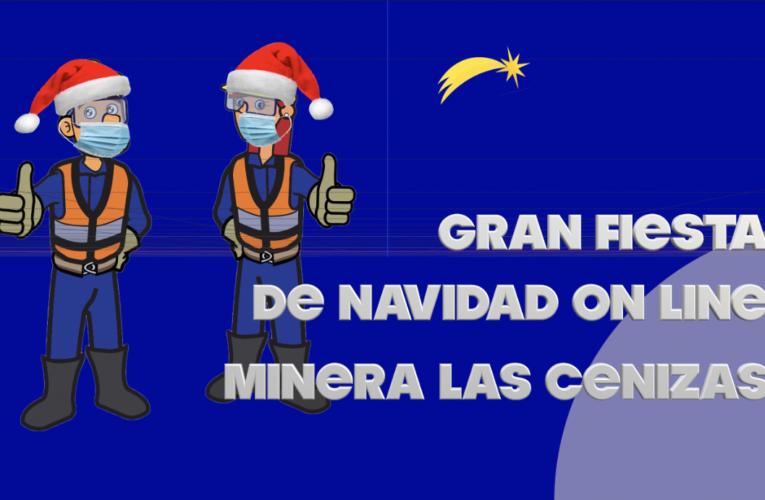 Cenizas Celebra Fiesta de Navidad Virtual