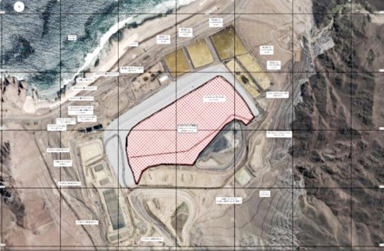 Proyecto de Enami busca optimizar depositación de relaves de Planta Moreno