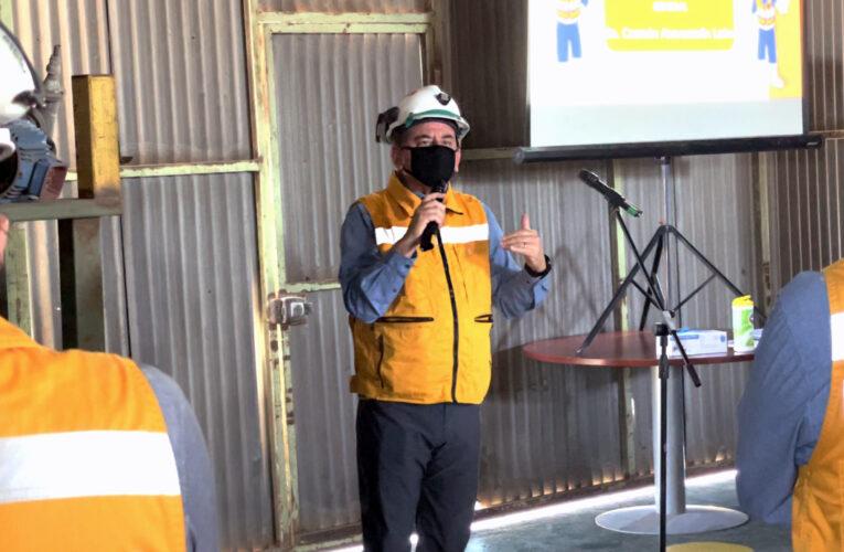 Emotivo reconocimiento a Trabajadores de Taltal por superar todos los récords de baja Accidentabilidad el año 2020