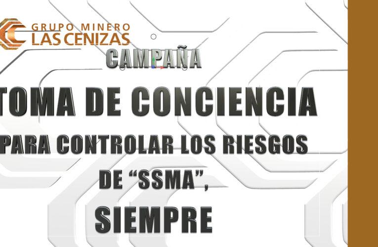 """Continúa Campaña Toma de Conciencia para Controlar los Riesgos de """"SSMA"""", Siempre"""