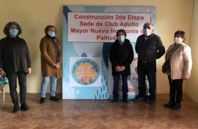 En Cabildo nos Reunimos con Dirigentes del Club del Adulto Mayor Nuevo Horizonte de Paihuén