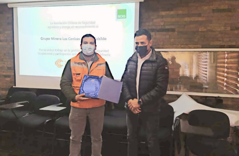 Gerencia Minería ACHS visita faena Cabildo y reconoce su aporte al sector en el mes de la minería
