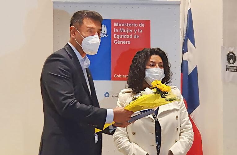 Jefa de Turno de Planta Óxidos, recibe Premio Mujeres Destacadas en la Industria Minera de la Región de Antofagasta