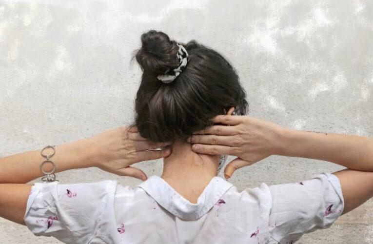 Los dolores al cuello van en aumento y la culpa es de la pandemia