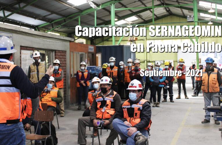 Sernageomin presenta en Faena Cabildo campaña para evitar accidentes en la minería