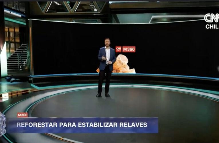 CNN Chile emite video reportaje sobre forestación en Cabildo